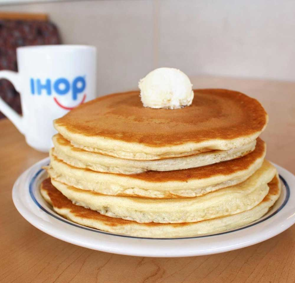 stack of ihop pancakes