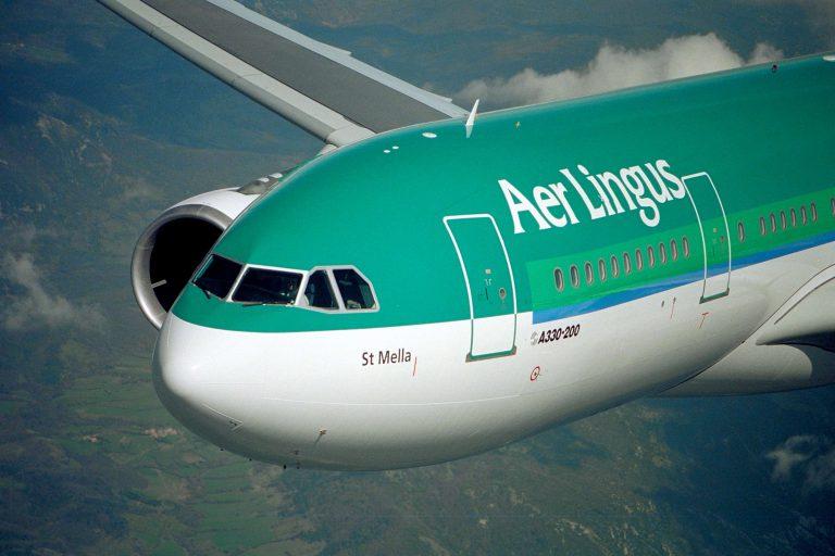 aer lingus airplane
